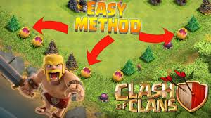 how to spawn a scary pumpkin easy and fast clash of clans
