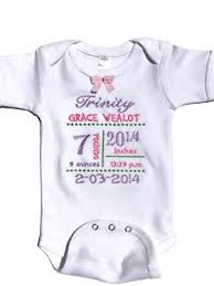 baby customized gifts baby gifts for newborn personalized baby onesie