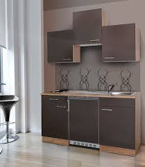 miniküche respekta miniküche mit e geräten breite 150 cm kaufen baur