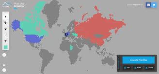 World Map Generator by Digital Geography