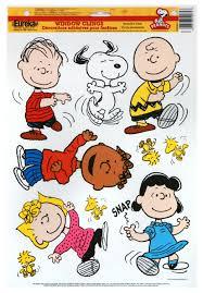 peanuts classic characters school window clings eureka school
