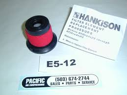 hankison element e5 12 hf series grade 5 max oil removal filter