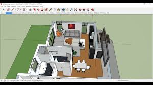 create floor plan in sketchup architecture model in sketchup youtube