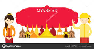 Myanmar Flag Photos Myanmar People Stock Vectors Royalty Free Myanmar People