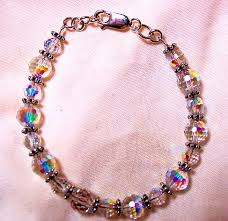 swarovski beaded necklace images Swarovski aurora borealis crystal bead necklace swarovski aurora jpg