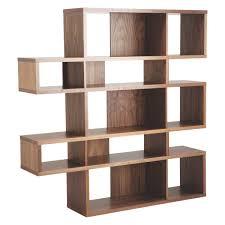 Walnut Bookshelves Antonn Tall Walnut Shelving Unit Buy Now At Habitat Uk