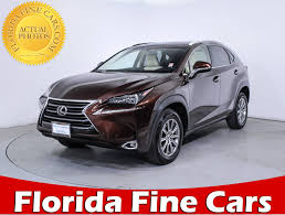 lexus nx discount used 2016 lexus nx 200t suv for sale in miami fl 85609