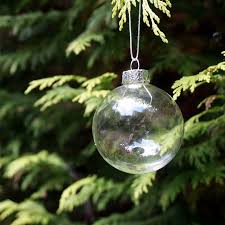 clear glass tree decorations rainforest islands ferry