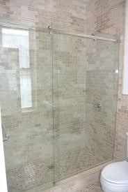 23 Shower Door New Trackless Shower Doors Within Sliding Door Vs Hinged Idea 23
