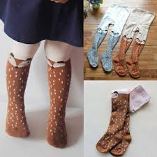 cute stockings baby kids girls cute cotton fox tights socks stockings pants hosiery