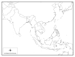 Map East Asia by Asia Louse Asia Map Spainforum Me
