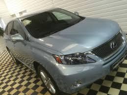 lexus light blue second hand lexus rx 450h 3 5 v6 se i 5dr cvt hybrid auto for sale
