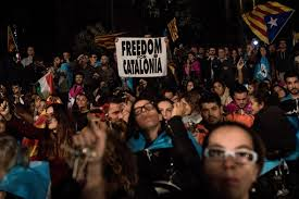 catalan referendum pro independence groups call for general
