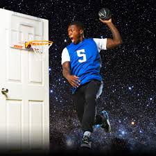 Indoor Wall Mounted Basketball Hoop For Boys Room Amazon Com Tekk Nate Robinson Monster Jam Mini Hoop Sports