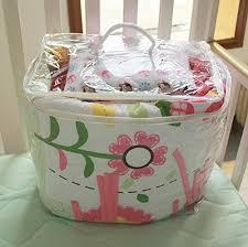 Nursery In A Bag Crib Bedding Set Pink Owl Bird 7pcs Crib Set Baby Bedding Set Crib Bedding Set
