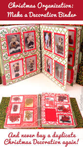 Christmas Decoration Binder Two Sisters