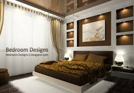 Master Bedroom Ceiling Designs Bedroom Design With Brown Stretch Ceiling