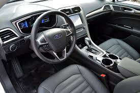 2014 Ford Focus Se Interior 2014 Ford Fusion Hybrid Review Web2carz