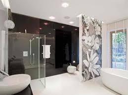 desain kamar mandi warna hitam putih tilan mewah dan elegan desain interior rumah dengan warna monokrom