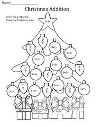 christmas worksheets for upper primary decorate a christmas tree