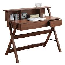 Target Computer Desk Storage Espresso by Cymax Secretary Desk Best Home Furniture Decoration