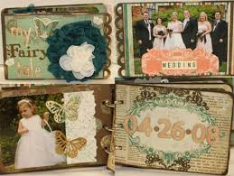 handmade wedding albums wedding craft ideas for your inspiration poptastic funky