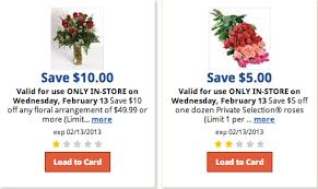 flower coupons kroger coupons for flowers dozen roses for only 12 99 kroger