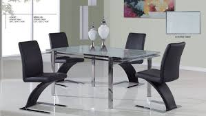 Modern Kitchen Table And Chairs Set Sets Modern Kitchen Tables - Glass kitchen tables