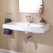 Wall Mount Sinks For Small Bathrooms How To Install Wall Mounted Sink Midcityeast