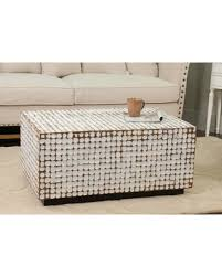 White Wash Coffee Table - cyber monday special kepir coffee table top finish white wash