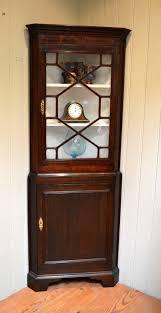 Premier Home Decor Sold Antique Corner China Cabinet 1945 Made In Canada Estate