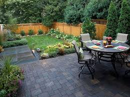 garden ideas wonderful garden with beautiful patio chic black