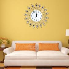 Design Home Decor Wall Clock by Living Room Wall Clocks Home Decoration Ideas Designing Beautiful