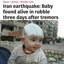 Earthquake Meme - dopl3r com memes news world middle east iran earthquake baby