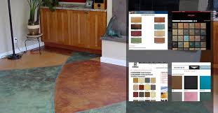 Stain Color Chart Concrete Coating Color Chart Concrete Color Colored Concrete U0026 Colour Concrete Ideas The