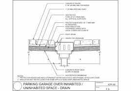 mcnear brick and block parking garage drain jpg