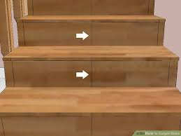 how to carpet stairs with pictures wikihow