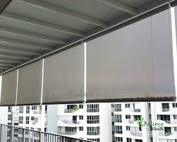 outdoor roller shades singapore clanagnew decoration