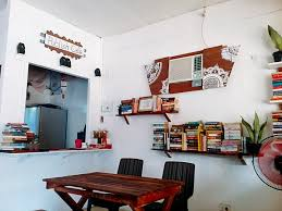 home is where books and food are publish cafe san jose antique