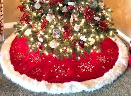 modest decoration hobby lobby tree skirts santa two