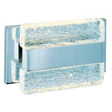 maxim lighting ice polished chrome led bathroom light 39621ibpc