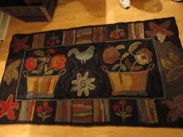 Wool Hand Hooked Rugs 1115 Best Hooked Rugs Images On Pinterest Penny Rugs Rug Ideas