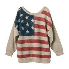 American Flag Cardigan Anna Kaci S M Fit Red White And Blue American Flag Zip Up Fashion