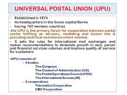 Apply Universal Postal Union International Letter Writing Terms Expressions Commonly Used In International Post Ppt