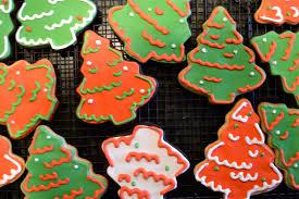 chocolate christmas tree sugar cookies a dash of megnut
