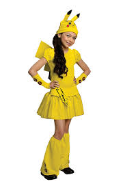 halloween city locations 2015 amazon com pokemon pikachu costume dress large toys u0026 games