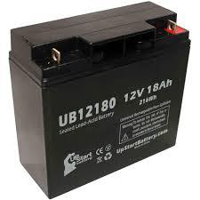 2 pack apc rbc7 1000 battery ub12180 12v 18ah sealed lead acid sla