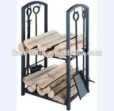 Fireplace Toolset - fireplace log rack log holder fireplace tools set poker tongs