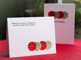 clean u0026 simple christmas cards u2013 mayholic in crafts