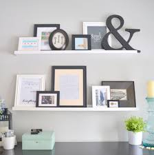 Picture Ledge Ikea How To Decorate With Picture Frames Throughout Your Home